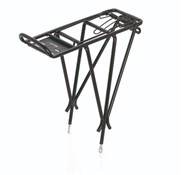 "Product image for XLC Alu Carrier Pannier Rack 26-28"" with Spring Clip (RP-R04)"