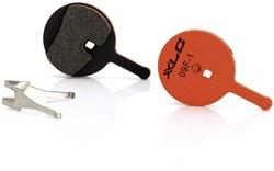 XLC Organic Disc Pads - Avid BB5/Promax Dsk (BP-O17)