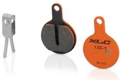 XLC Organic Disc Pads - Tektro IOX/Lyra/Novela (BP-O33)
