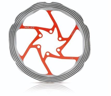 XLC 6 Bolt Painted CNC Ring Rotor