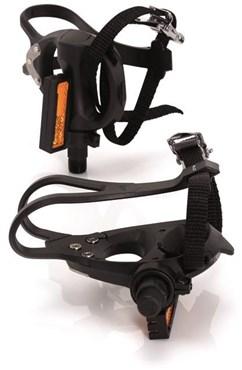 XLC Road Pedals and Toe Straps Plastic (PD-R01)