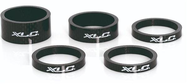 XLC A-Head Spacer Set Carbon