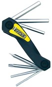 Product image for Pedros Folding Hex Set with Torx 25