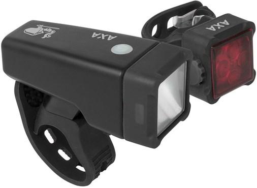 AXA Bike Security Niteline T4-R Light Set | Lygtesæt