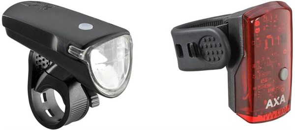 AXA Bike Security Greenline 35 Lux Light Set | Lygtesæt