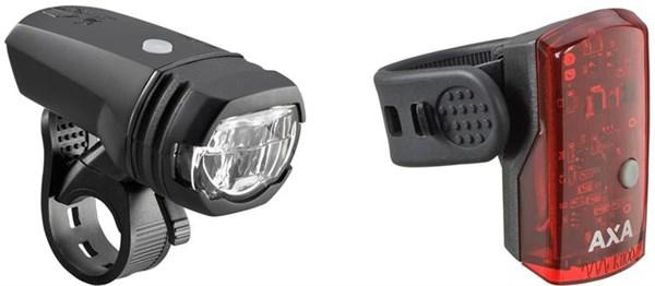 AXA Bike Security Greenline 50 Lux Light Set
