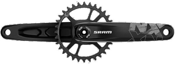 """SRAM NX Eagle DUB X-Sync 2 4"""" Fat Bike Direct Mount Crankset - 12 Speed (Cups/Bearings Not Included)"""
