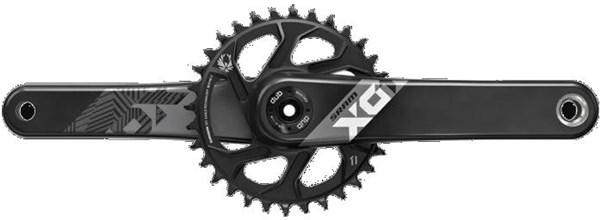 SRAM X01 Eagle Dub 12 Speed Direct Mount Crank Set (Dub Cups/Bearings Not Included) | Krank