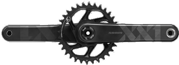 SRAM XX1 Eagle Boost 148 Dub 12 Speed Direct Mount Crank Set (Dub Cups/Bearings Not Included)