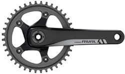 Product image for SRAM Rival1 10 / 11 Speed Crank Set (BB Not Included)