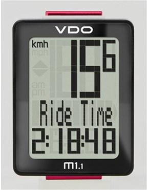 VDO M1.1 WL Wireless Cycle Computer