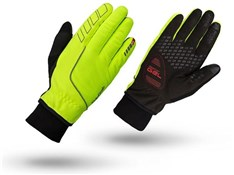 GripGrab Hurricane Hi-Viz Winter Long Finger Cycling Gloves