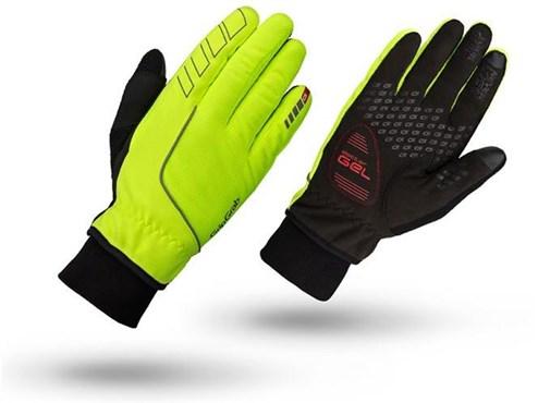 GripGrab Hurricane Hi-Viz Winter Long Finger Cycling Gloves