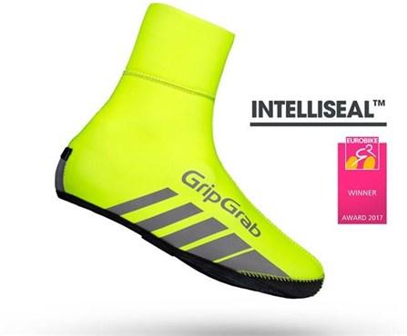 GripGrab Race Thermo Hi-Viz Cycling Shoe Covers