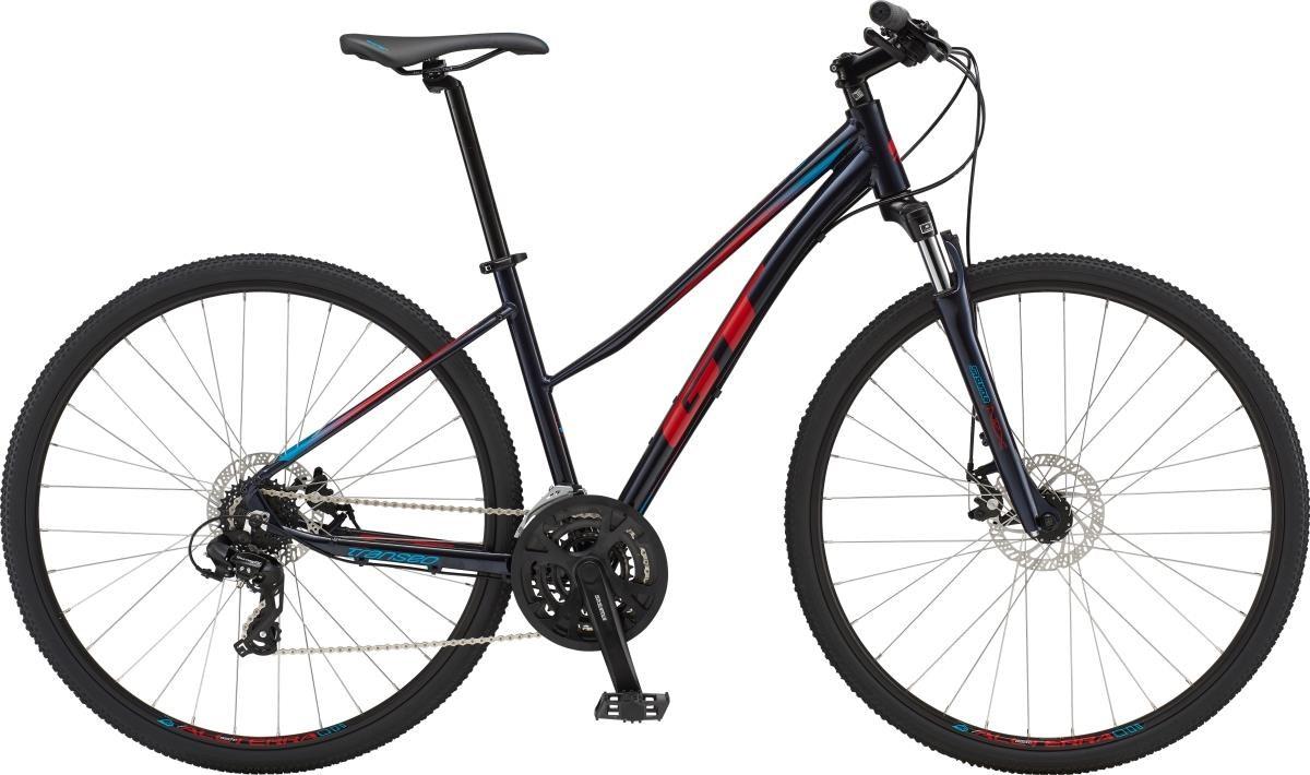 GT Transeo Comp Step-Thru Womens 2019 - Hybrid Sports Bike | City-cykler