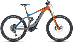 "Cube Stereo Hybrid 160 Action Team 500 27.5"" 2019 - Electric Mountain Bike"
