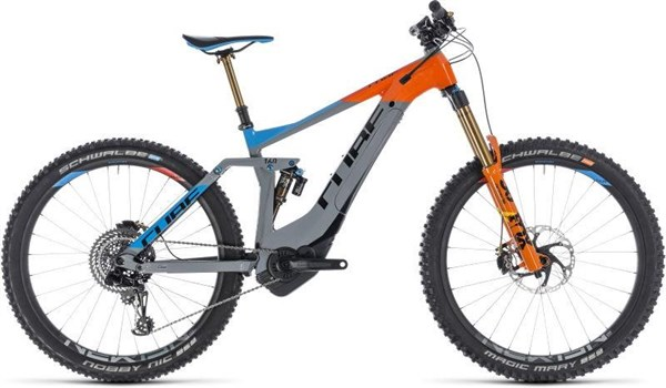 """Cube Stereo Hybrid 160 Action Team 500 27.5"""" 2019 - Electric Mountain Bike"""