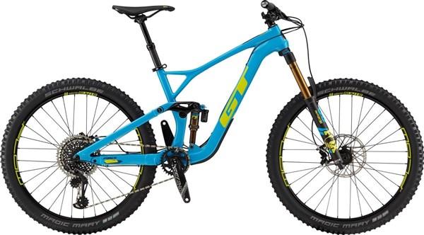 "GT Force Carbon Pro 27.5"" Mountain Bike 2019 - Enduro Full Suspension MTB"
