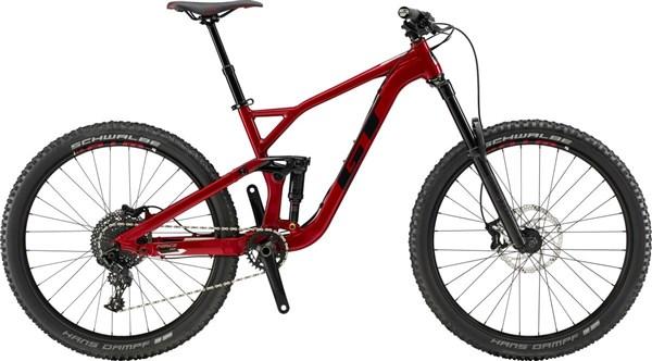 "GT Force Comp 27.5"" Mountain Bike 2019 - Enduro Full Suspension MTB"