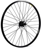 "Product image for M Part 26""x1.75"" Alloy 6 Bolt Disc Or Rim Brake Qr Axle 100mm Front Wheel"