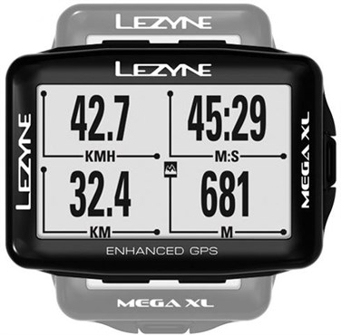 Lezyne Mega Xl Gps Cycling Navigate Computer
