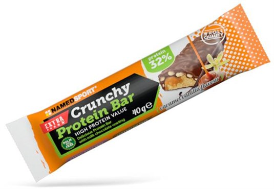 Named Sport Nutrition Crunchy Protein Bar - 40g Box of 24