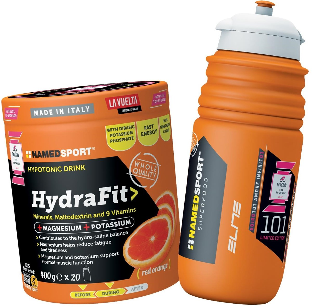 Namedsport Hydrafit 400g + Sports Bottle | Bottles