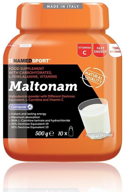 Namedsport Maltonam Energy Drink - 500g | Energy drinks