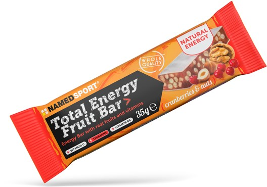 Named Sport Nutrition Total Energy Fruit Bar - 35g Box of 25 | Energibar