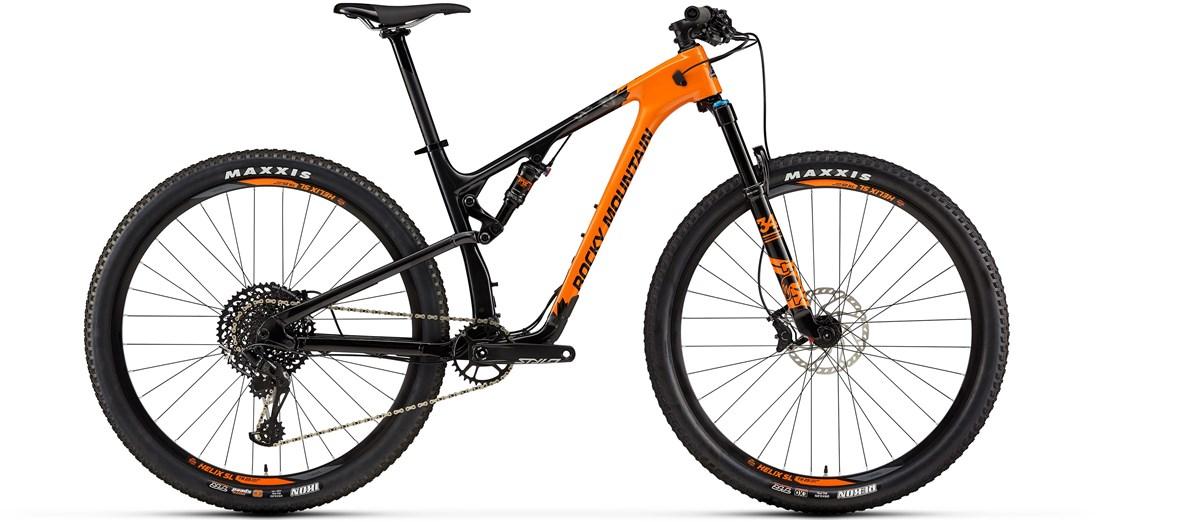 Rocky Mountain Element Carbon 50 29er Mountain Bike 2019 - Trail Full Suspension MTB | MTB