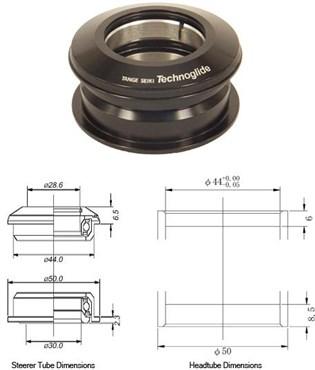 Tange Seiki Technoglide ZS2 Semi Integrated Headset