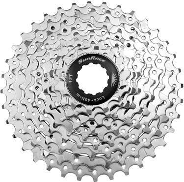 SunRace 9 Speed Nickel Cassette