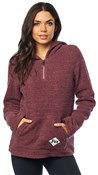 Fox Clothing Road Raider Sherpa Womens Pullover Hoodie