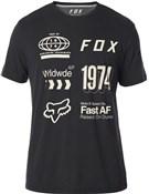 Fox Clothing Wrldwd Airline Short Sleeve Tech Tee