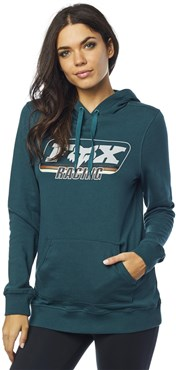 Fox Clothing Retro Fox Womens Pullover Hoodie