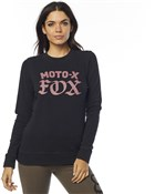 Fox Clothing Moto X Crew Womens Fleece