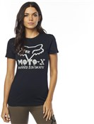 Fox Clothing Drips Womens Short Sleeve Crew Tee
