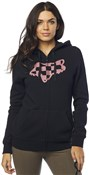 Fox Clothing Check Head Zip Womens Fleece