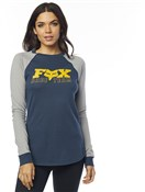 Fox Clothing Race Team Womens Long Sleeve Top
