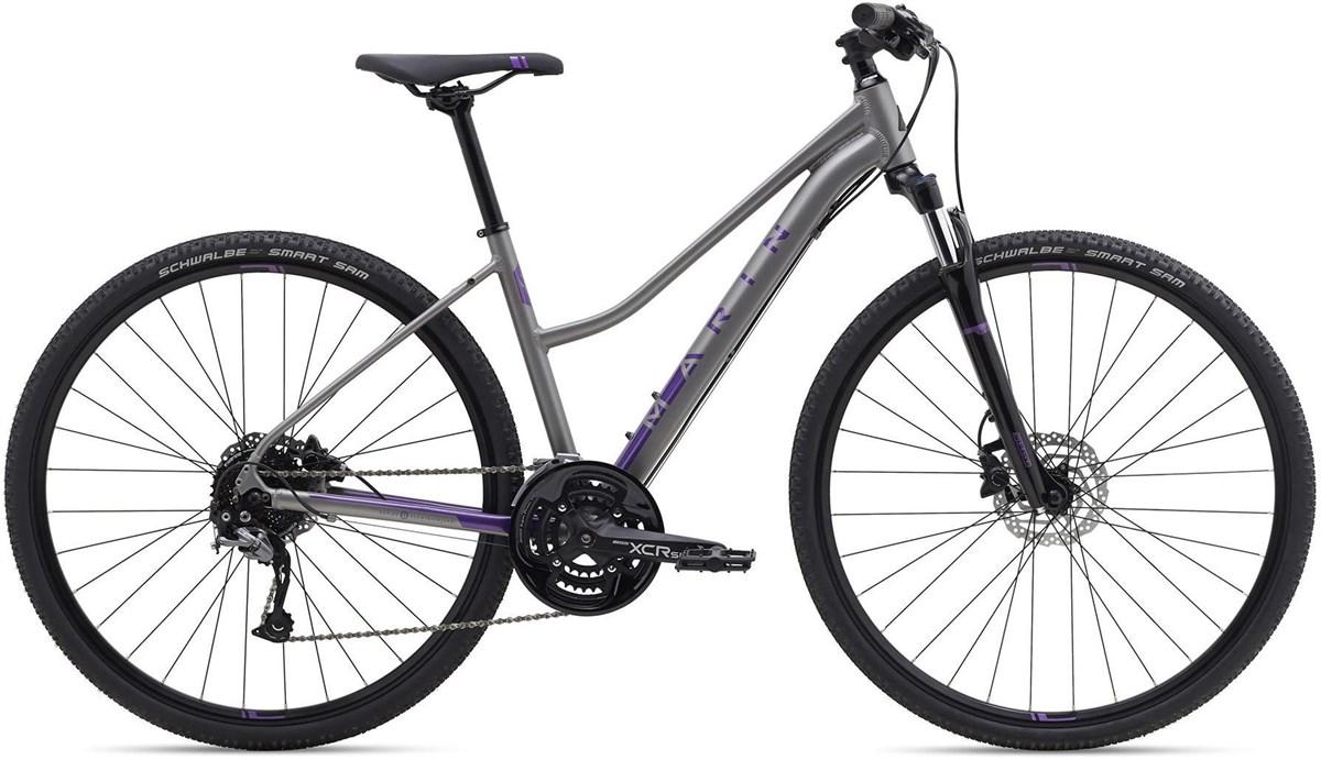 Marin San Anselmo DS3 Womens 2019 - Hybrid Sports Bike | City-cykler