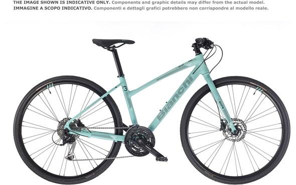Bianchi C-Sport 2.5 Dama Womens 2019 - Hybrid Sports Bike