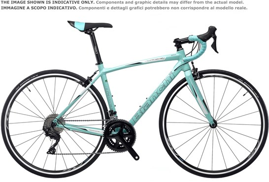 Bianchi Dama Bianca Nirone Alu Sora Womens 2019 - Road Bike