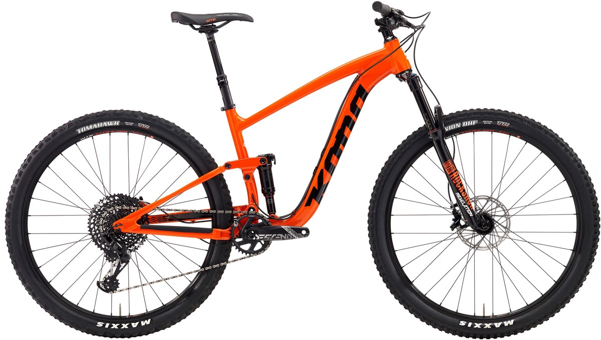 Kona Satori DL 29er Mountain Bike 2019 - Trail Full Suspension MTB | MTB