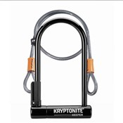 Product image for Kryptonite Keeper 12 Standard W/Flex Sold Secure Silver