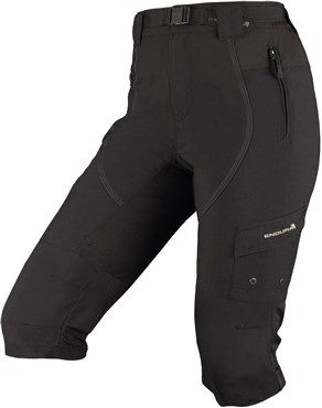 Endura Hummvee 3/4 Womens Baggy Cycling Shorts AW16 | Trousers