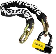 Kryptonite New York Fahgettaboudit Chain and Padlock - Gold Sold Secure