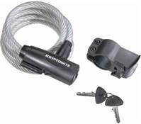 Kryptonite Keeper Value Key Cable Lock With Bracket