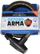 Oxford Arma 20 Armoured Cable Lock