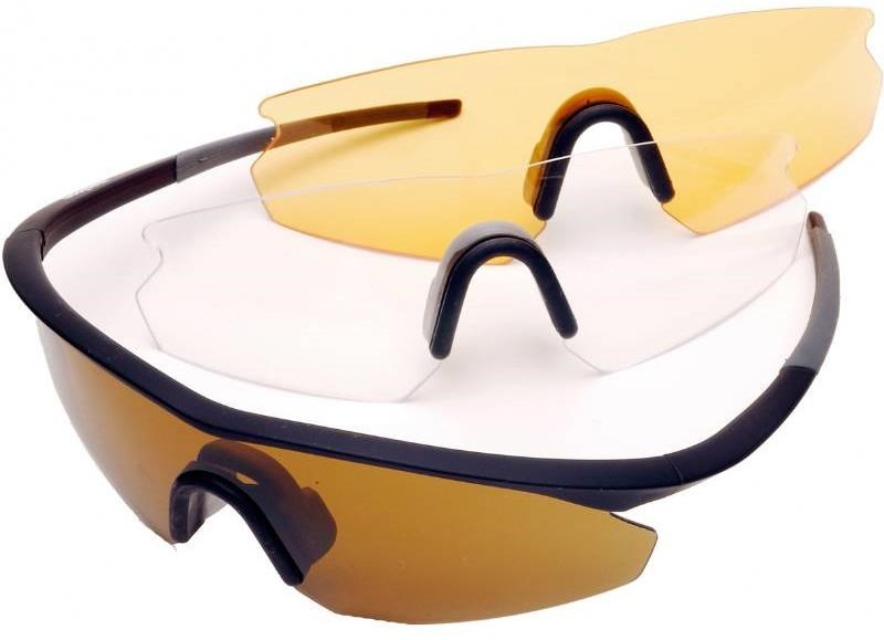 Madison D Arcs Triple Lens Set Compact Cycling Glasses