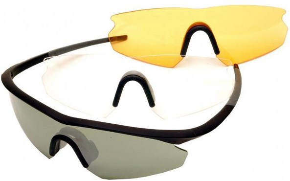 Madison D Flex Mirrored Triple Lens Set Cycling Glasses 2018